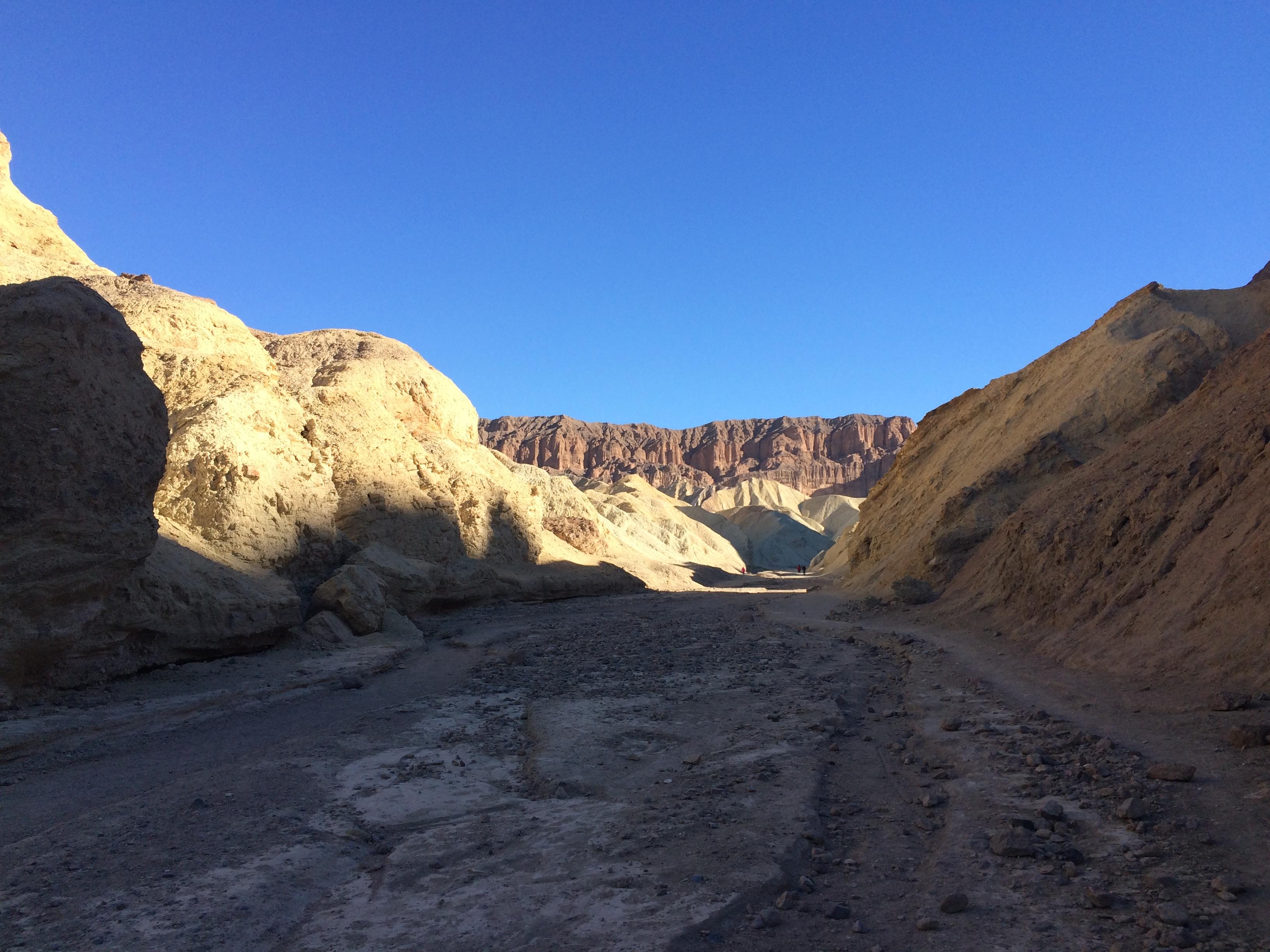 Golden Canyon Gower Gulch Amp Badlands Death Valley