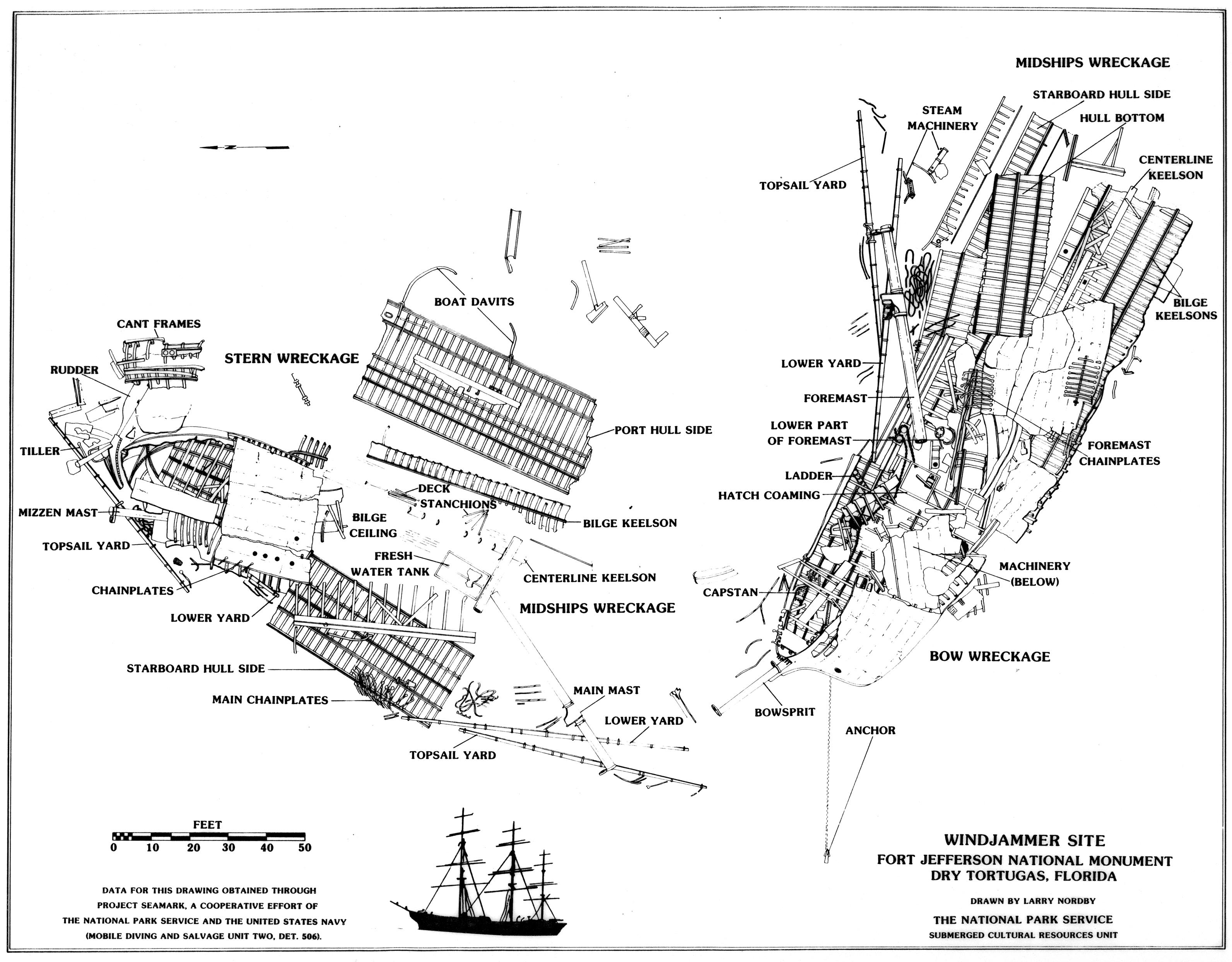 The Windjammer Wreck
