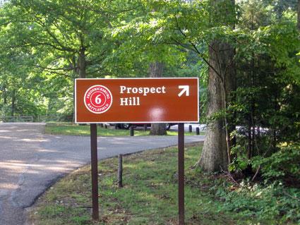 Virtual Tour Stop Federal Breakthrough Fredericksburg