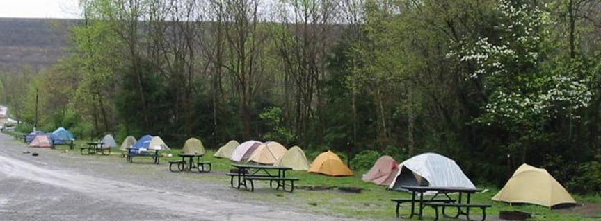 Camping  Gauley River National Recreation Area US
