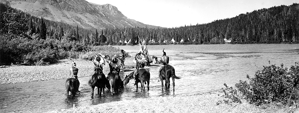 American Indian Tribes  Glacier National Park US
