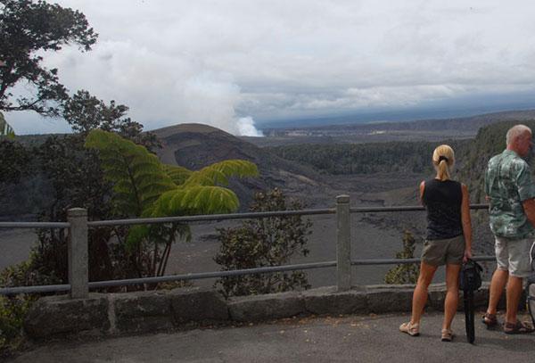 Klauea Iki Overlook  Hawaii Volcanoes National Park U
