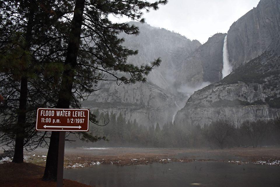 Yosemite Valley Flood - January 9, 2017 Morning Update - Yosemite ...