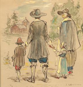 Jamestowne settlers