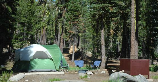 Summit Lake Campground  Lassen Volcanic National Park U
