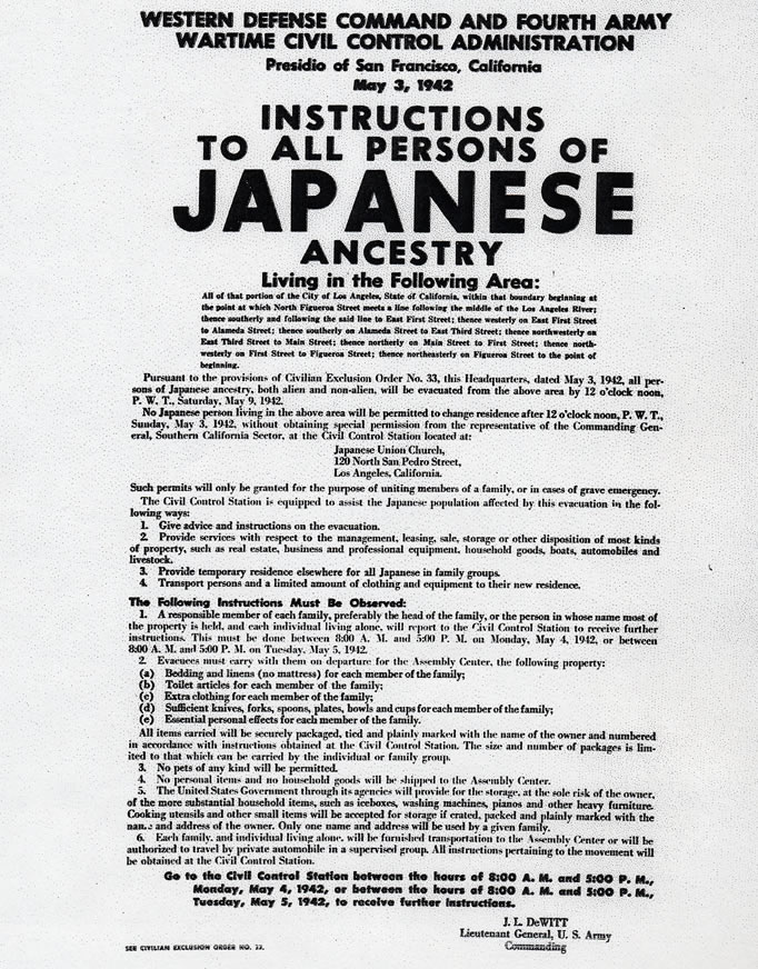 EXPO Resources / Japanese Internment Camps