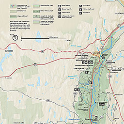 maps delaware water gap