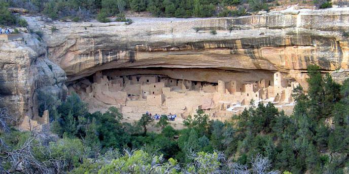 Preserving Cliff Palace  Mesa Verde National Park US