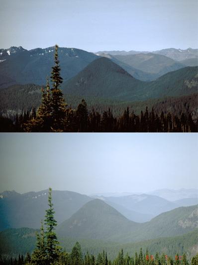 Air Quality Mount Rainier National Park U S National