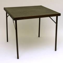 Folding Card Table And Chairs Wheelchair Easy Care Maggie L. Walker National Historic Site