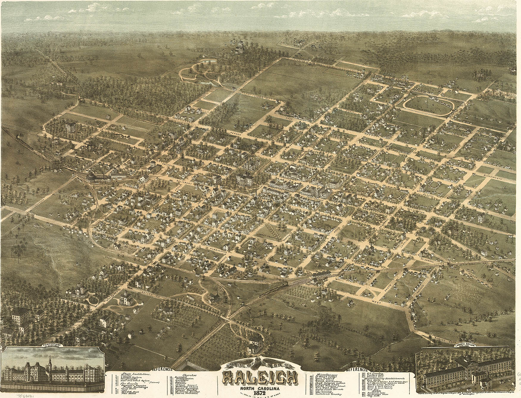 early history raleigh a capital city