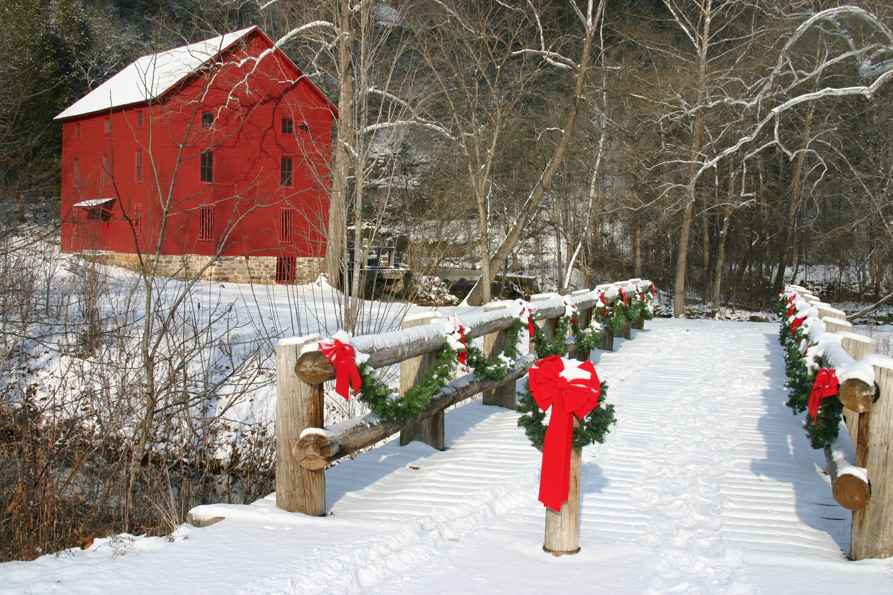 Celebrate an Old Fashioned Christmas and Open House at Alley  Ozark National Scenic Riverways