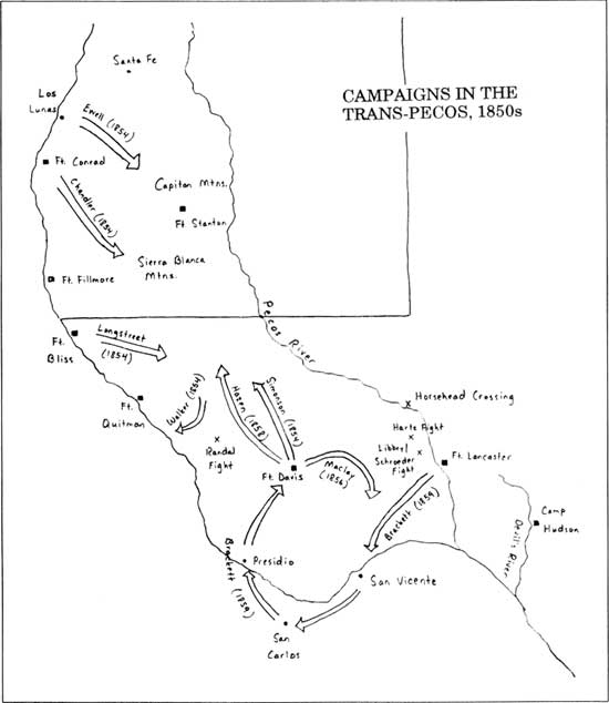 Fort Davis NHS: History of Fort Davis, Texas (Chapter 3)