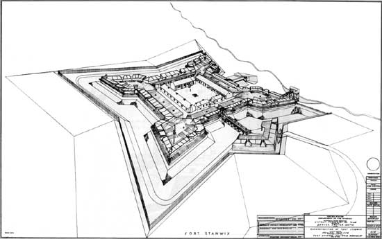 Fort Stanwix NM: Historic Structure Report (Illustrations)