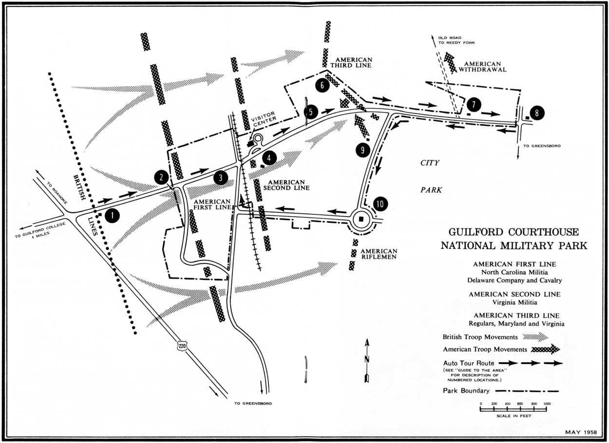NPS Historical Handbook: Guilford Courthouse