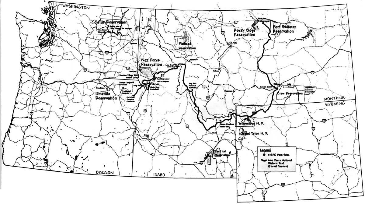 Nez Perce NHP: Administrative History (Chapter 3)