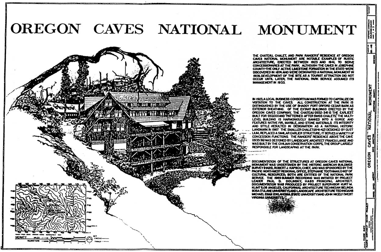 Oregon Caves NM: Historic Structures Report (Appendix A)