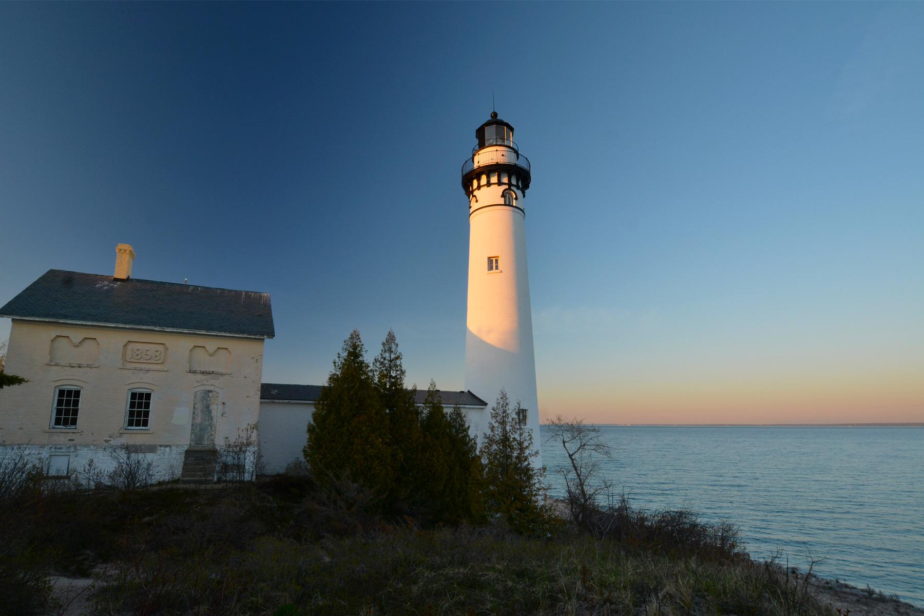 South Manitou Island Lighthouse  Sleeping Bear Dunes