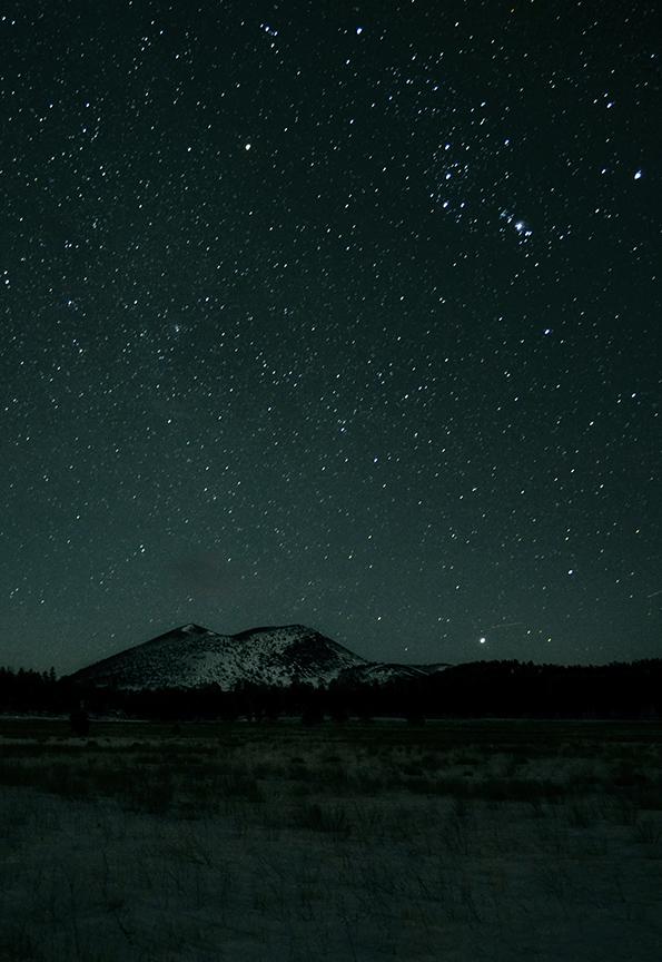 Night Sky Arizona Desert