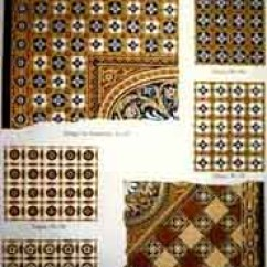 Kitchen Wall Tile Designs Spice Rack Preservation Brief 40: Preserving Historic Ceramic Floors