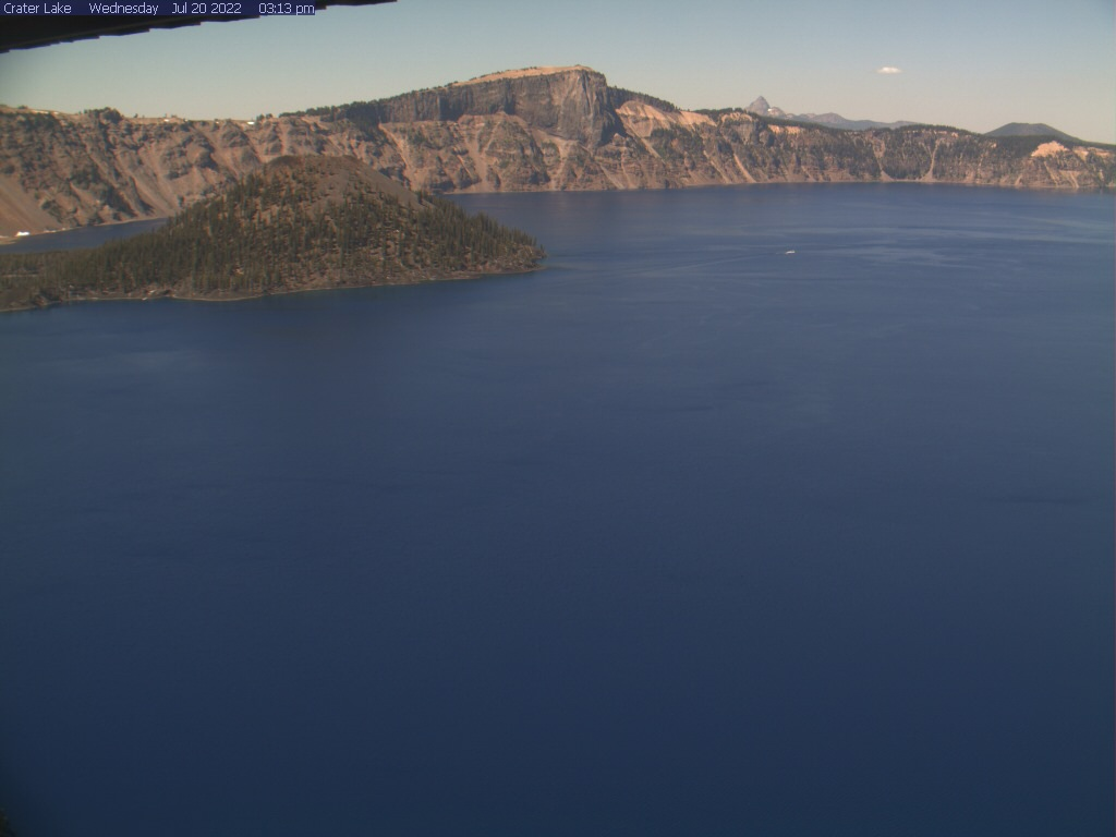 Crater Lake National Park Air Quality Camera