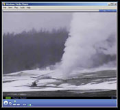 Yellowstone Nat'l Park live streaming video