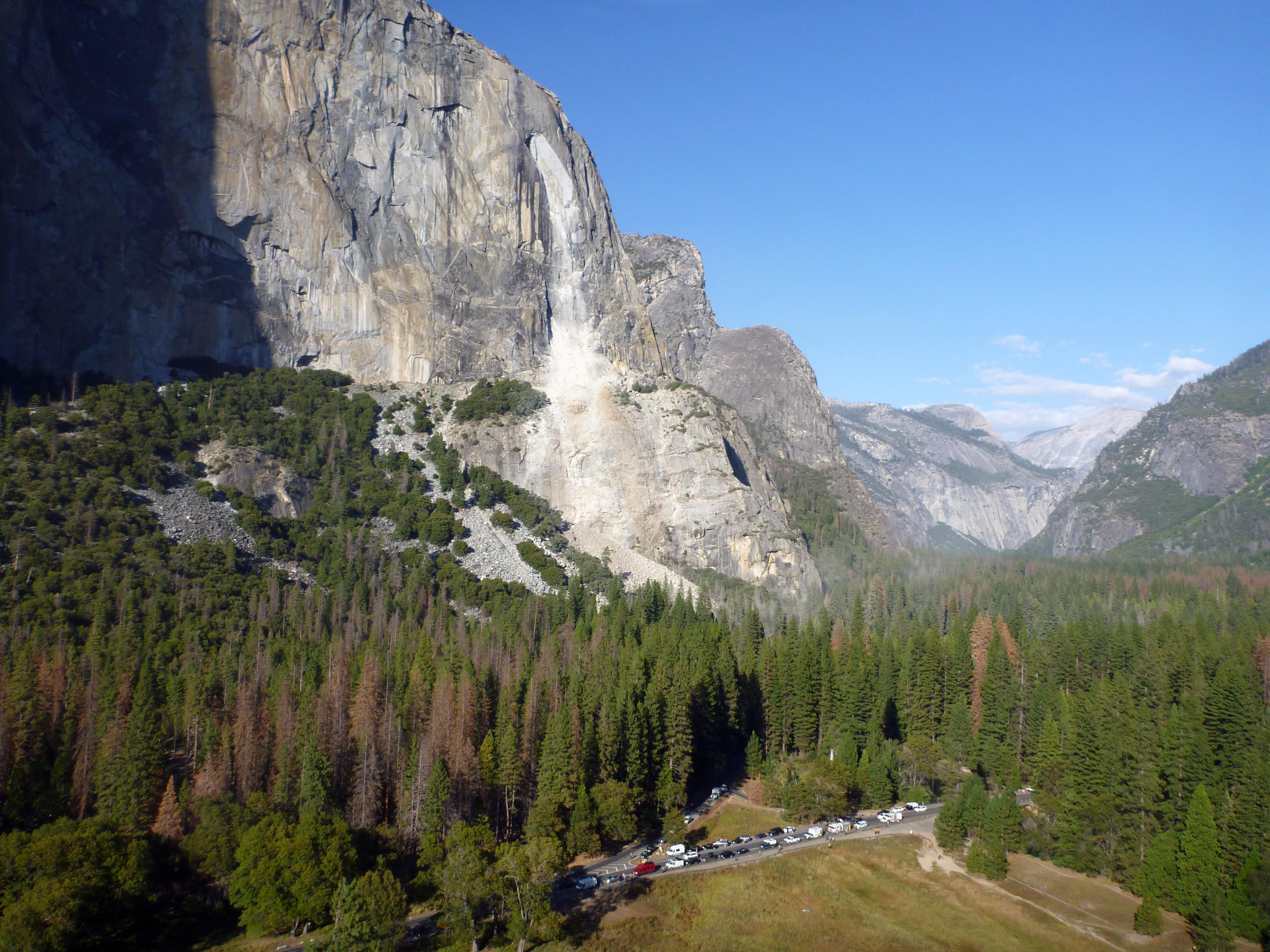 Another Rockfall in Yosemite National Park - Yosemite National ...