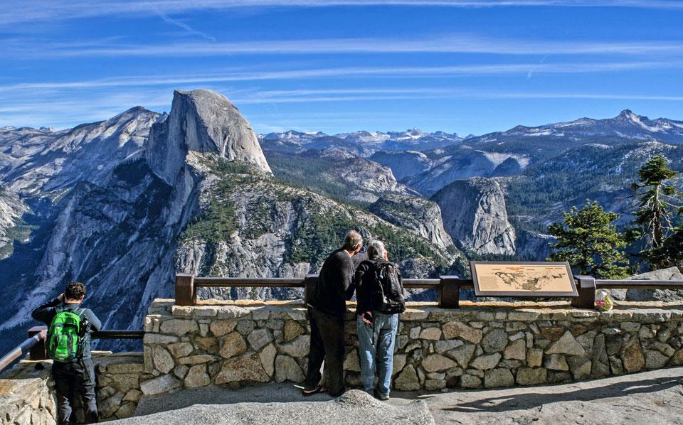 Hd Wallpaper Yosemite Fire Fall Glacier Point Yosemite National Park U S National Park