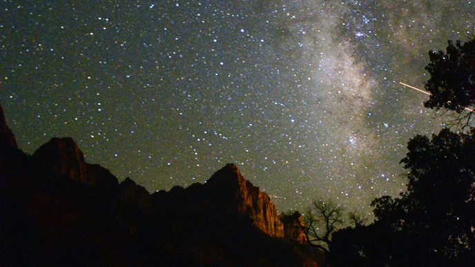 Night Skies  Zion National Park US National Park Service