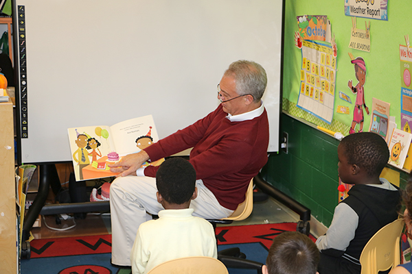 Superintendent Cerf Reads Not Norman  A Goldfish Story