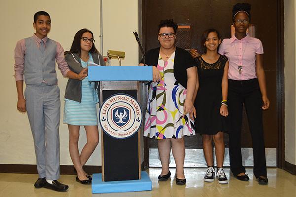 Luis Muoz Marin School for Social Justice Celebrates
