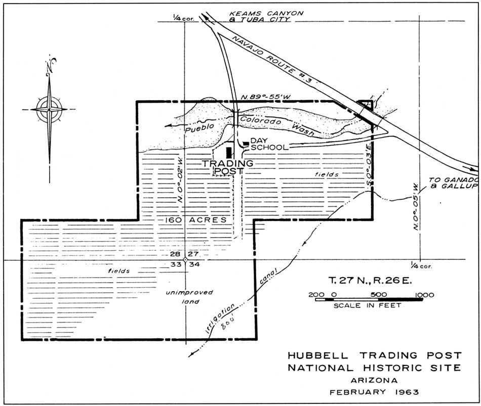 Hubbell Trading Post NHS: Cultural Landscape Report