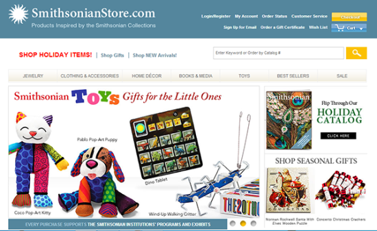 Charity online shop