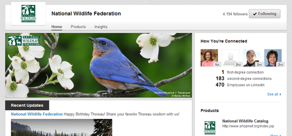 Nature Wildlife Federation
