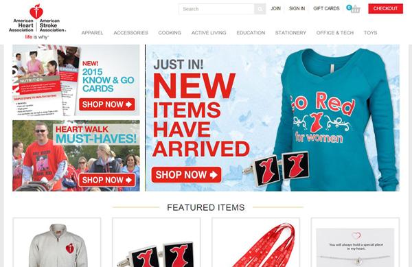 ShopHeart org-American-Heart-Association