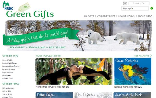 NRDC Green Gifts