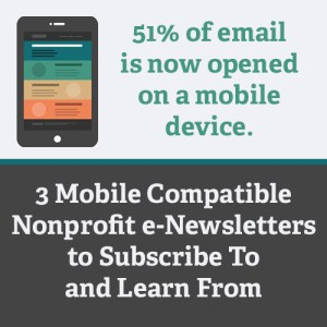 mobile email for nonprofits