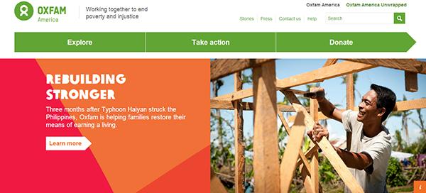 oxfam america responsive