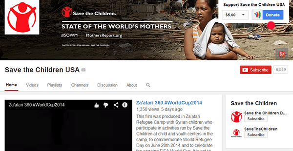 nonprofit google donate wallet button