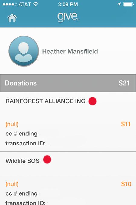 donation portfolio