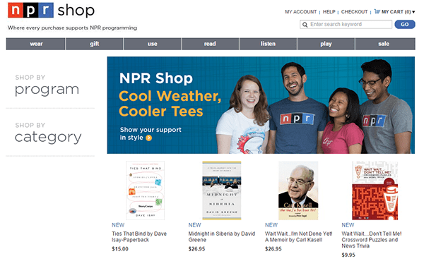 NPR Shop