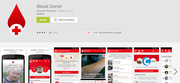 red cross app google play