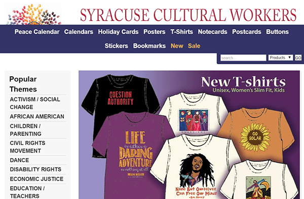 Syracuse Cultural Workers Store
