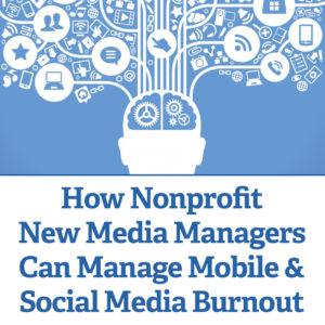 Social Media Burnout Nonprofit Facebook