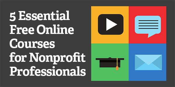 5 Essential Free Online Courses for Nonprofit Professionals