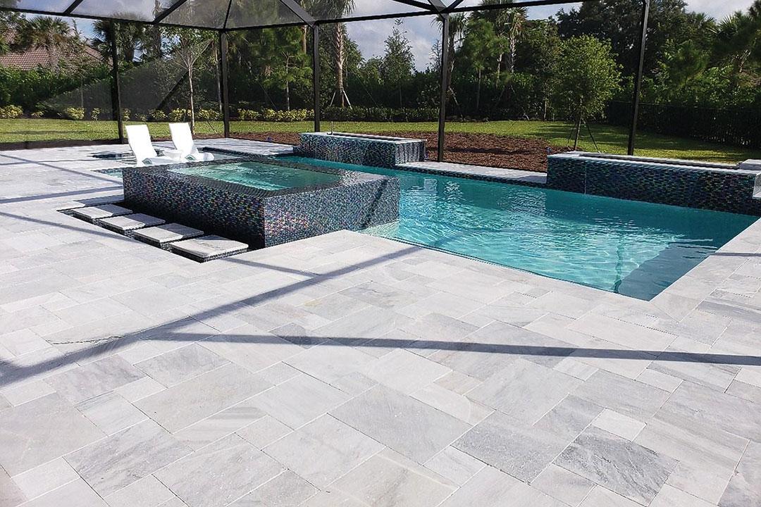 ice white marble stone hardscapes