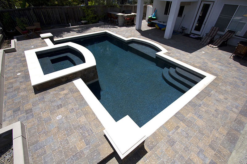 Krystalkrete® is made from nature's finest materials to create the most luxurious quartz pool finish in the world. Stonescapes Regular Pebbles Midnight Blue Pool Finishes Nptpool Com