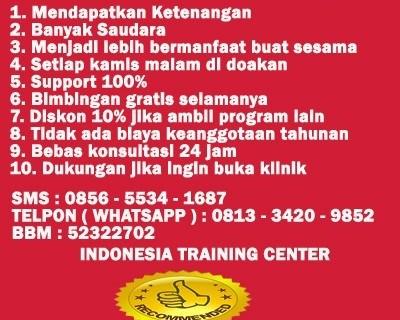 0813 3420 9852 ( Telkomsel ) Manfaat Mengikuti Pelatihan Nqthibbunnabawi