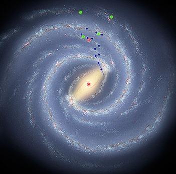 Robert Hurt, IPAC; Mark Reid, CfA, NRAO/AUI/NSF.