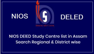 NIOS DElED Study Centre